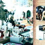 ウィーン「ナッシュマルクトの蚤の市」ひたすら寒い日に売られている猿の人形が、一人毛皮をまとって楽しそうだったので。もじゃもじゃ。