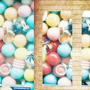 ウィーン「ワイルドなガチャガチャ」ウィーンの街のおもちゃ屋にあったガチャガチャ。ゆびわもキャンディも一緒になっていてワイルド。すこし浅く淡い、優しい色をまとっている。