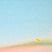 すその F0号  14×18cm アクリル・キャンバス