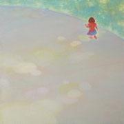駈ける S3号   27.3×27.3cm アクリル・キャンバス