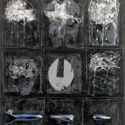 Forme amabili forme 2004-100x78/legno-acril-vernice/tela