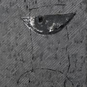 Forma in sospensione 1999-72x48/carta Arches