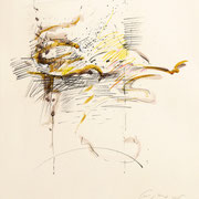 Sospensioni 2005-76x56/carta Fabriano Cotton