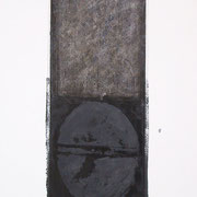 NeroArgento #XXV 2001-76x48-su carta Arches