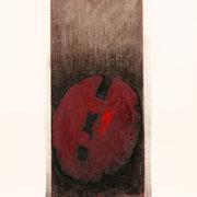 Rosso Argento 2001-72x48/carta Arches