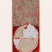 Rosso Argento 2000-72x48/carta Arches