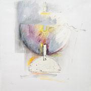 Disegno #XVI 2009-80x80/tela