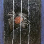 senza titolo 2006-39,5x32/tavola di legno