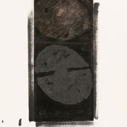Nero Argento #XII 2000-72x48/carta Arches