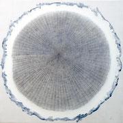 Aria blu 2015 -100x100-grafite/tela