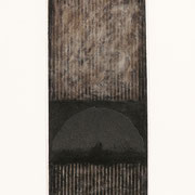 Nero Argento IV 2001-72x48/carta Arches