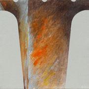 Risonanze 2. 2012-80x80/tela
