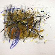 disegno 1998-30x40 china, pastelli, grafite.