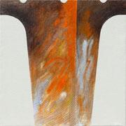 Risonanze 1. 2012-80x80/tela