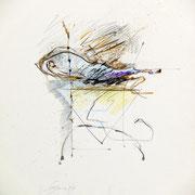 Magiche Sospensioni (I) 1999-48x36/carta Arches