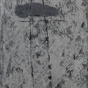 Mute sospensioni n°II 1998-66X42/carta Arches