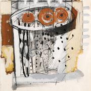 Carta (A) 2005-65x46/ carta Arches