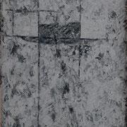 Sospensione nero brillante 1999-42x66/carta Arches