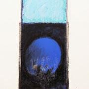 Blu-argento 2000-72x48-su carta Arches