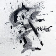 Disegno n°25. 2005-60x40 su carta Arches