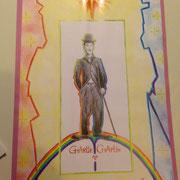 Charlie Chaplin ... das Bild ist Verkauft ...