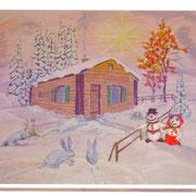 Fimo - Schneemannpaar von Mike ...