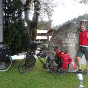 21.07.2014 Les Gets - der erste Passe ist geschafft und das Wetter etwas trockener...