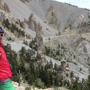 28.07.2014 Abfahrt vom Col d'Izoard - Steinwüste