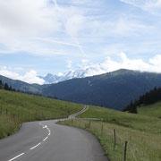 23.07.2014 Aufstieg zum Col des Saisies