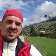 29.07.2014 Aufstieg zum Col de Vars - nach einer gäbigen Kaffeepause geht es mir und der Sonne vieeel besser...