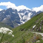27.07.2014 Abfahrt vom Galibier  in Richtung Briançon...