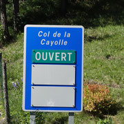 30.07.2014 Der Cayolle wartet - landschaftlich sehr reizvoll!!