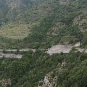02.08.2014 Die Serpentinen am Col de Turini faszinieren mich immer und immer wieder!