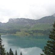 24.07.2014 Barrage de Roselend - Stausee - Landschaft einfach einmalig schön...!!