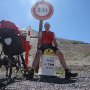 27.07.2014 Kurz vor der Passhöhe des Galibiers