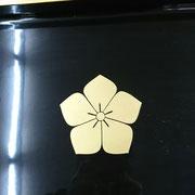 広盆 15号(45×31×4.5)桔梗・渕金 ¥102,600➡特価¥15,000