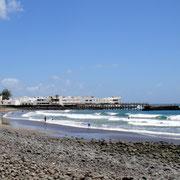 Arrieta Playa La Garita Ansicht