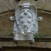 Medici Wappen (lo stemma dei Medici) Forte Belvedere