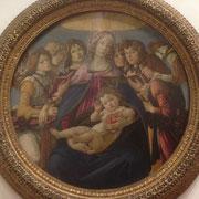 Botticelli Madonna della melagrana Galleria degli Uffizi