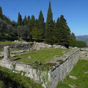 Etruskische Ausgrabung Fiesole