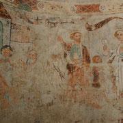 Mistail Kirche St. Peter Karolingische Fresken Tiefencastel