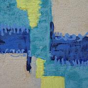 """Wandbild """"Piccolino I"""" - 20x20x3 cm - Holz - verkauft"""