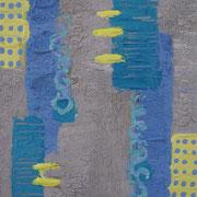 "Wandbild ""Klein Aber Fein II"" - 20x20x3 cm - Holz - verkauft"