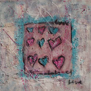 """Lot`s Of Love"" - 60x60x4,5 cm"