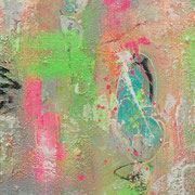 """""""Today It´s A Good Day"""" - 40x130x4 cm"""