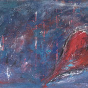 """Love"" - 100x70x3,5 cm - verkauft"
