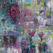 """Loveflowers"" - 70x100x4 cm"