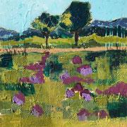 """A New Spring"" - 60x60x4,5 cm - verkauft"