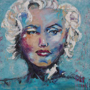 """She´s Got The Look"" - 110x70x4,5 cm"