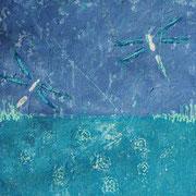 """Wish I Could Fly"" - 50x50x4,5 cm - verkauft"